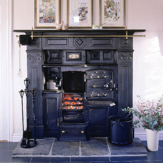 Country Kitchen Range: Reproduction Range Cooker