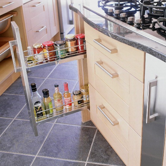 Modern oak and steel kitchen | Kitchen design | Decorating ideas | Image | Housetohome