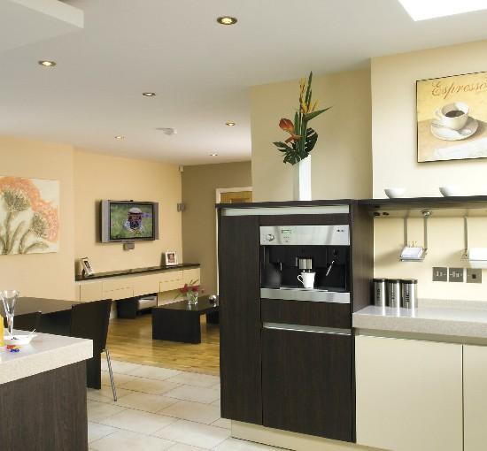Modern open-plan kitchen/living area | Kitchen furniture | Decorating ideas | Image | Housetohome
