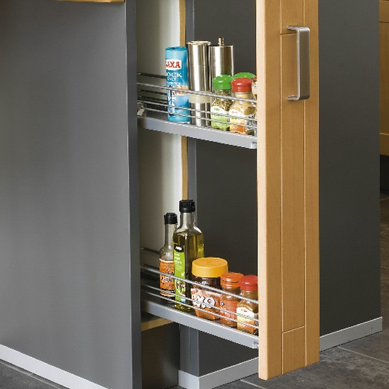 Space saving kitchen drawer unit kitchen design for Kitchen space savers