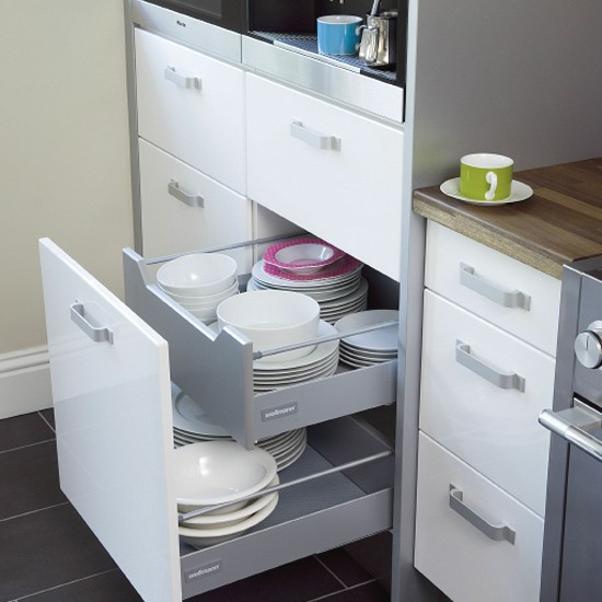 SpaceSaving Kitchen Drawers