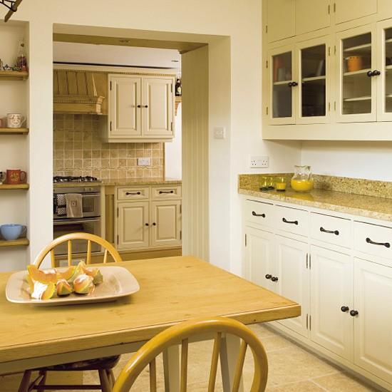 Traditional painted oak kitchen   Kitchen design   Decorating ideas   Image   Housetohome