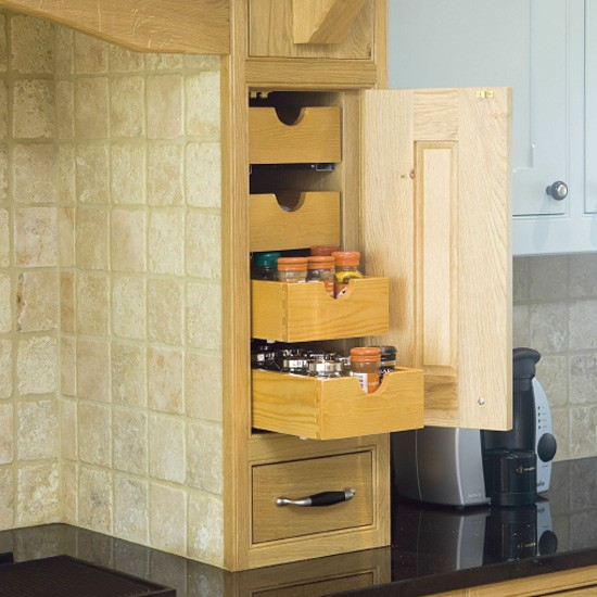 Space saving kitchen storage kitchen design decorating for Kitchen space savers