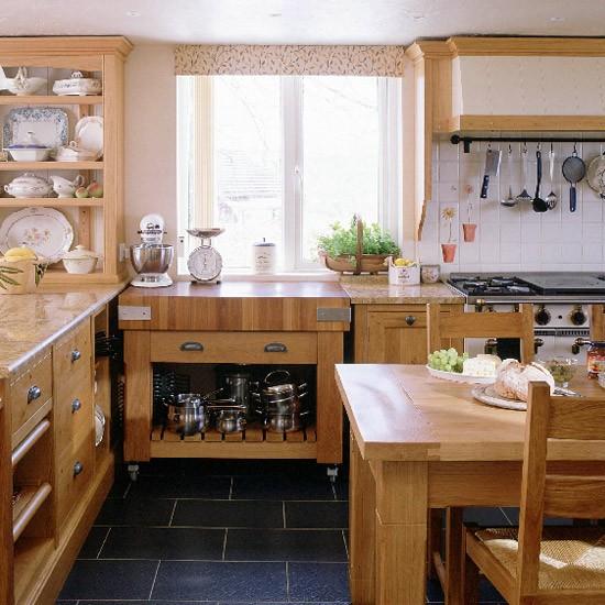 Country Kitchen Ideas Uk: Oak Country Kitchen