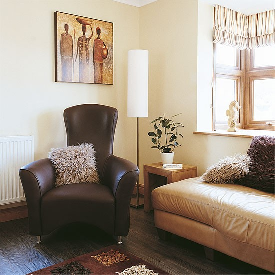 Eclectic cream living room | Decorating ideas | Image | Hosetohome.co.uk
