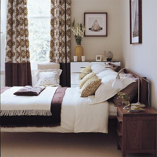 Quarto parceria marrons com limão | mobília do quarto | Decorando idéias | Imagem | Housetohome
