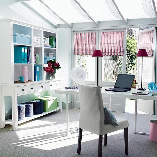 Modern home office | Office furniture | Decorating ideas | Image | Housetohome