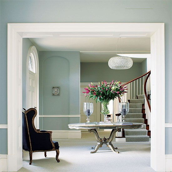 Reception Hallway Georgian Design Decorating Ideas
