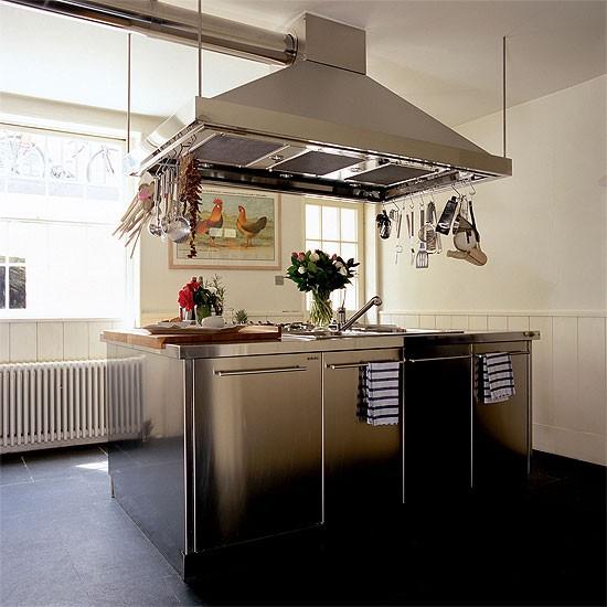 Kitchen island unit | Kitchen design | Decorating ideas | Image | Housetohome