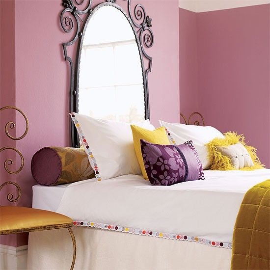 Glamorous bedroom | Bedroom furniture | Decorating ideas | Image | Housetohome