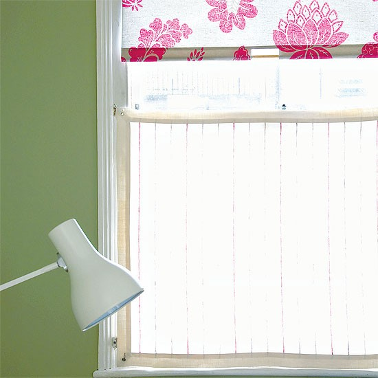 Home Office Window Dressing | Office furniture | Decorating ideas | Image | Housetohome