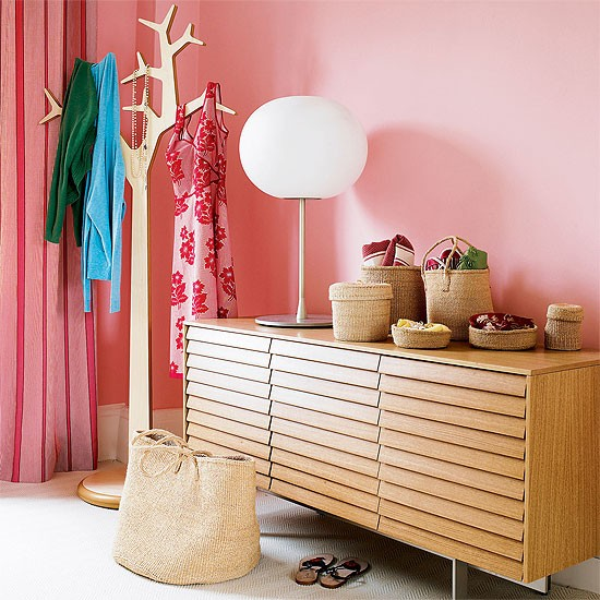 Bedroom Room Storage Pink Dressing Table Design Ideas