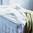 Utility room laundry basket