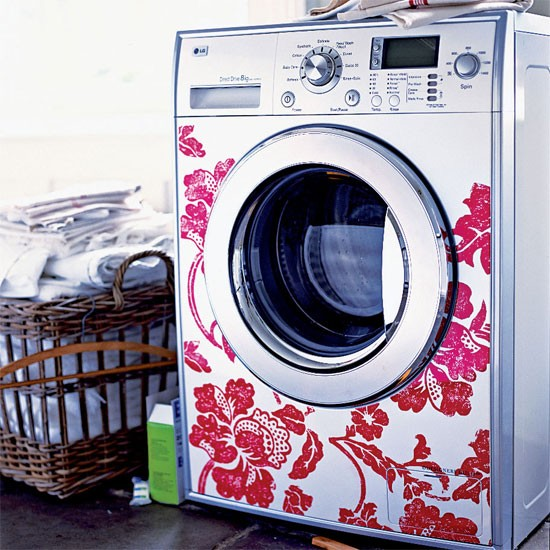 Statement utility room| Stylish washing machine | Decorating ideas | Image | Housetohome