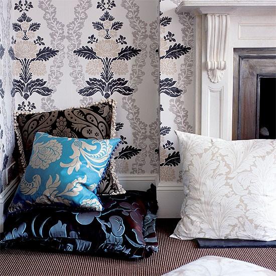 Patterned living room | Living room design | Decorating ideas | Image | Housetohome