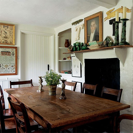 Country cottage dining room | Kitchen\diner design | Decorating ideas | Image | Housetohome