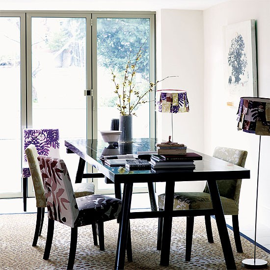 contemporary oriental style dining room dining room