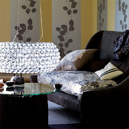 Modern Oriental-style living room | Oriental-style | Image | Housetohome.co.uk