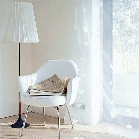 White living room corner | Decorating ideas | Image | Housetohome.co.uk