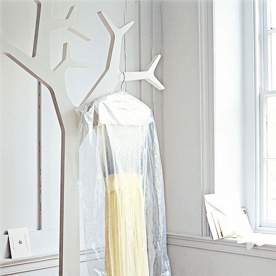 Hallway with white tree clothes stand | Hallway furniture | Decorating ideas | Image | Housetohome