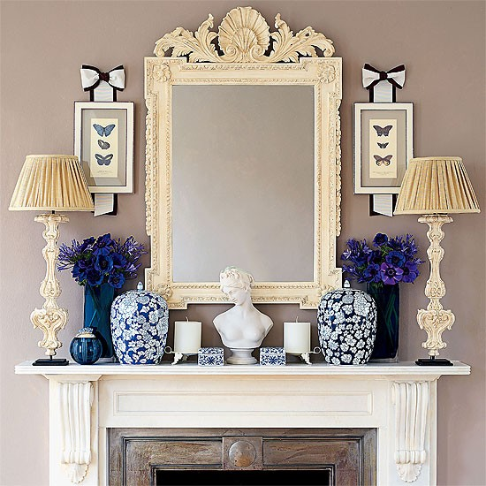 How to create the perfect mantelpiece