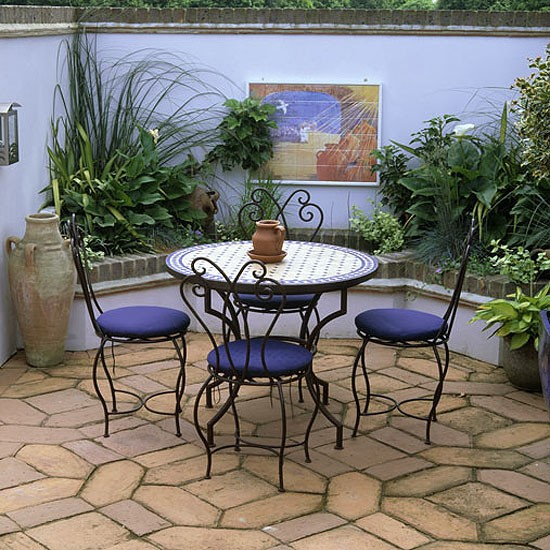 Moroccan Style Garden Terrace Garden Furniture