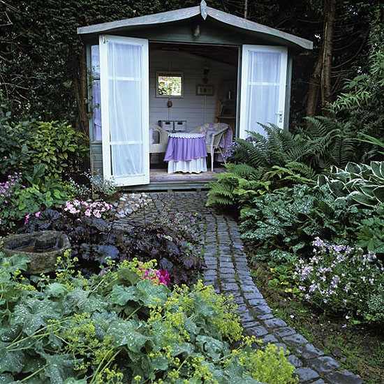 Garden with secret hideaway | Landscape design | Decorating ideas | Image | Housetohome