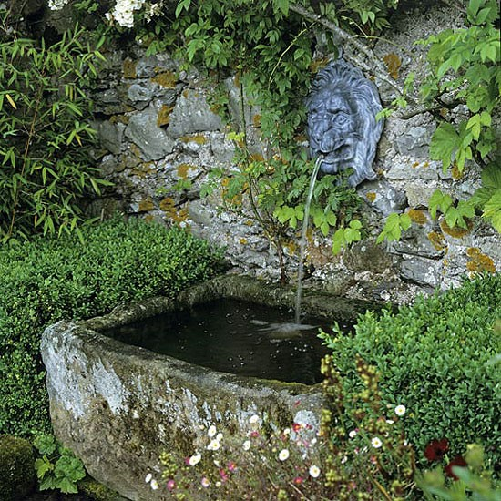 My landscaping collection landscaping ideas backyard for Outdoor wall fountains
