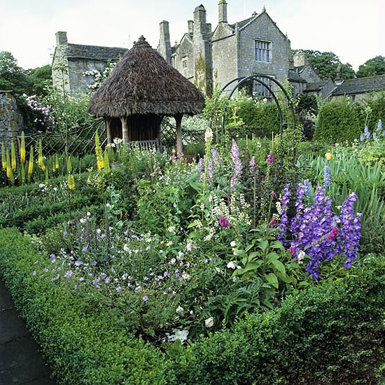 Formal country garden