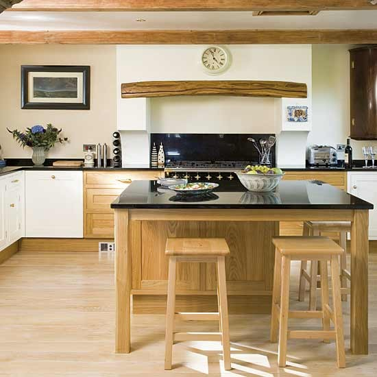 Oak Cabinet Kitchen Ideas Top Medium Oak Kitchen Cabinets: Classic Oak Kitchen