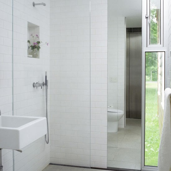 Wet rooms the essential guide shower room ideas for Tiny shower room design