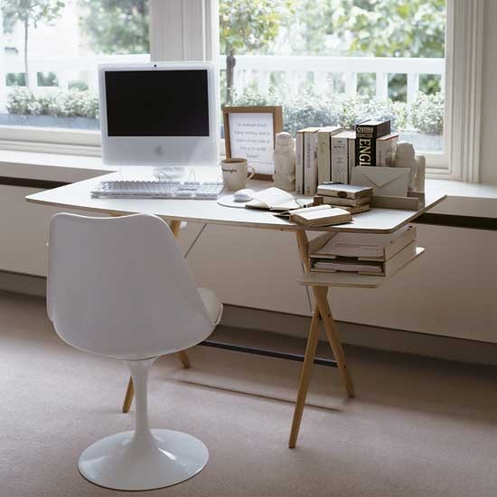 Contemporary Home Office Office Furniture Decorating Ideas