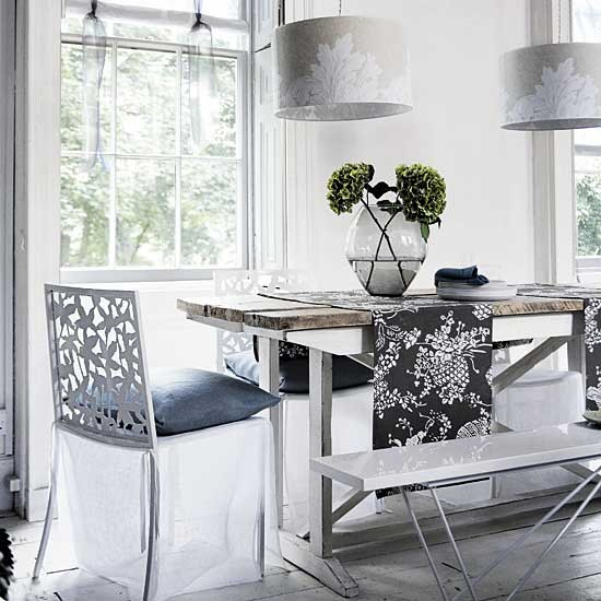 Restful dining room | Dining room furniture | Decorating ideas | Image | Housetohome