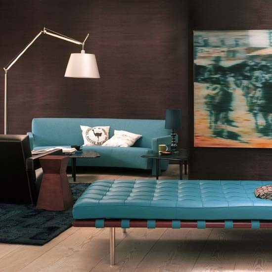 Art-inspired living room | Living room furniture | Decorating ideas | Image | Housetohome