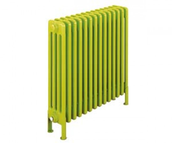 Make a bright statement with colourful radiators