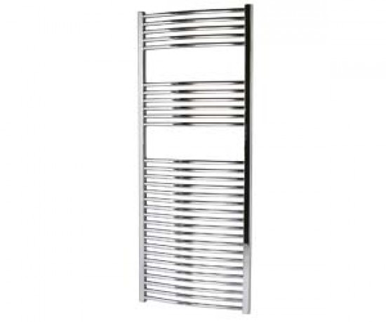 Ladder-style radiators are great for small bathrooms