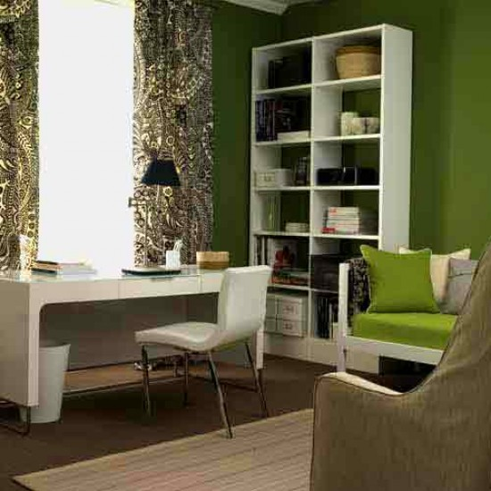 Bedroom home office office furniture decorating ideas for Bedroom office combo