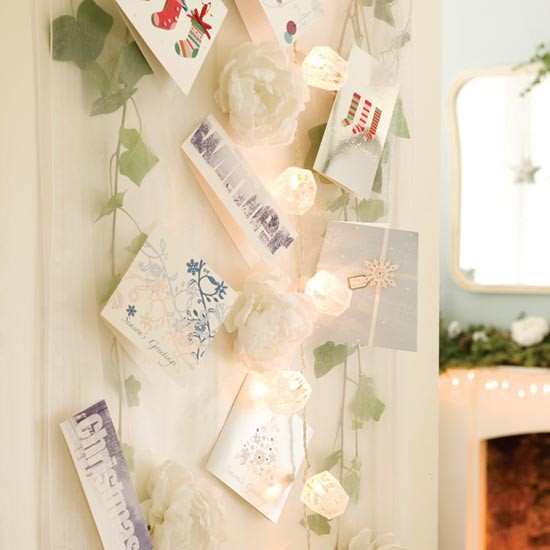 Display your Christmas cards with pride