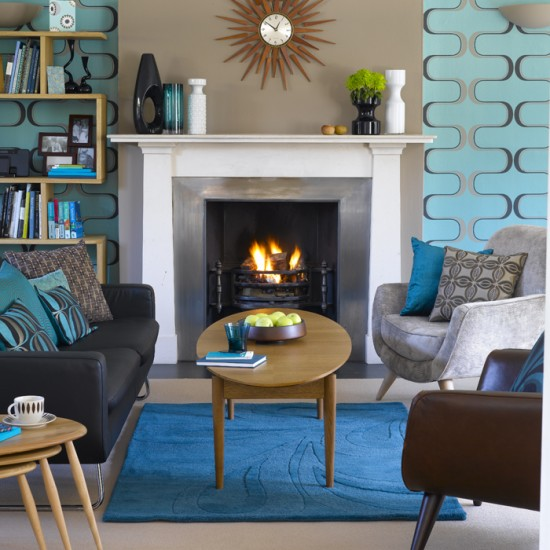 Retro living room | Living room design | Decorating ideas | Image | Housetohome