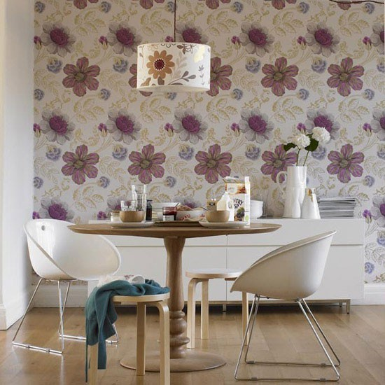 Floral dining room | Dining room furniture | Decorating ideas | Image | Housetohome