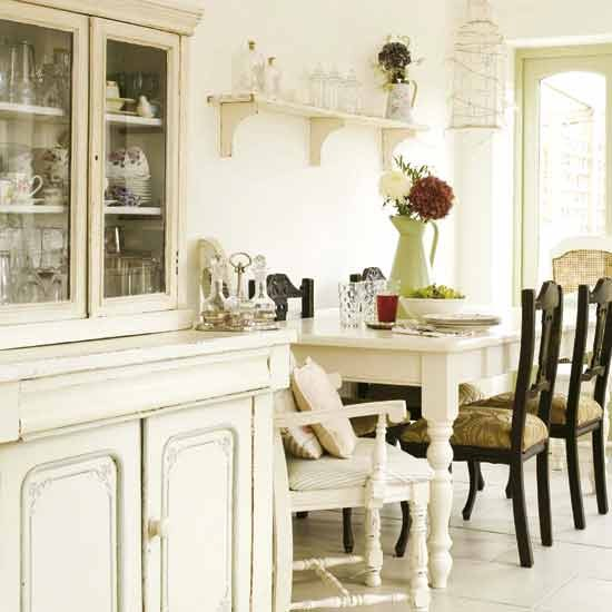 Vintage Dining Room Decor Decorating Ideas White Webjpg
