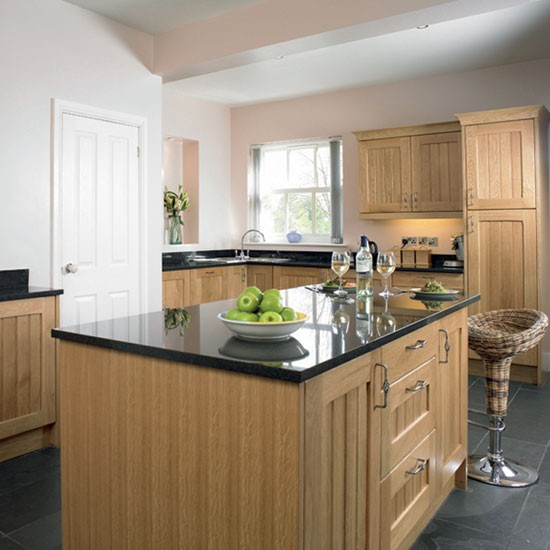 Country oak kitchen | Kitchen design | Decorating ideas | Image | Housetohome
