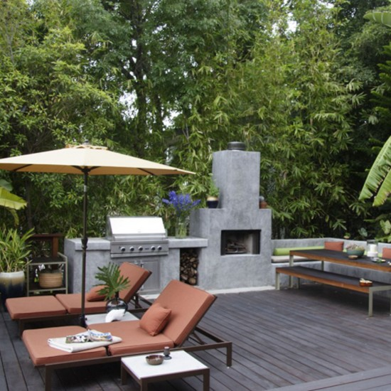 Contemporary cool garden | Garden design | Decorating ideas | Image | Housetohome