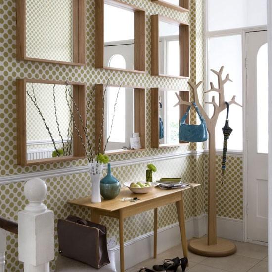 Mirrored hallway | Hallway design | Decorating ideas | Image | Housetohome