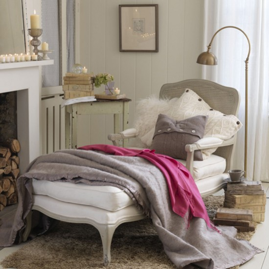Cosy living room corner | Living room furniture | Decorating ideas | Image | Housetohome