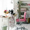 Craft corner home office