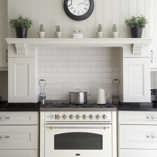 Elegant Kitchens: Elegant White Kitchen