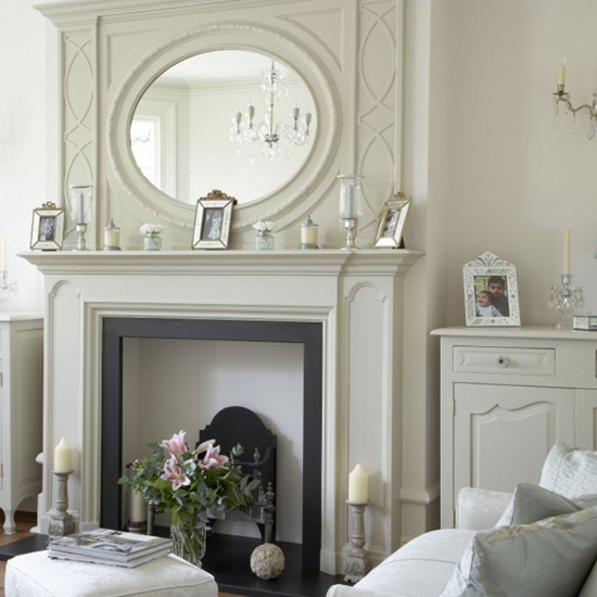 Decorating Ideas > Living Room With White Fireplace  Living Room Furniture  ~ 093458_White Fireplace Decorating Ideas