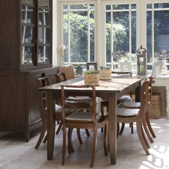 Homely dining room | Dining room furniture | Decorating ideas | Image | Housetohome