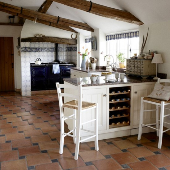Farmhouse kitchen kitchen design decorating ideas for Farm style kitchen designs